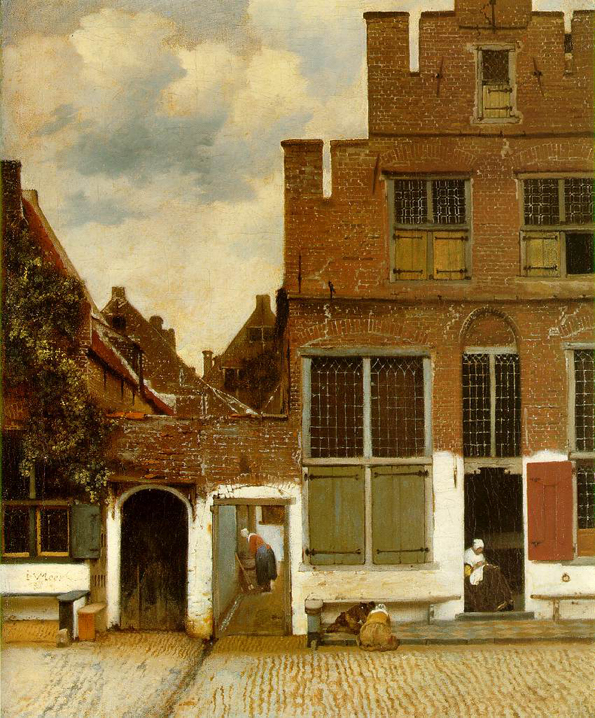street in delft