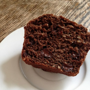 choco muffin innards