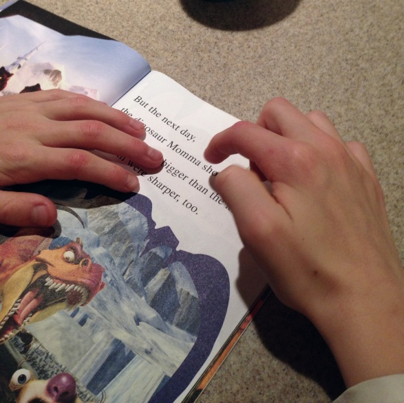 reading hands