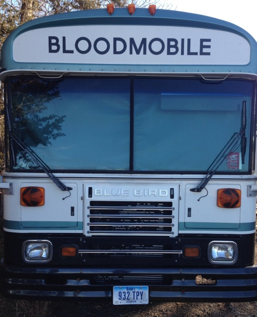 bluebird bloodmobile