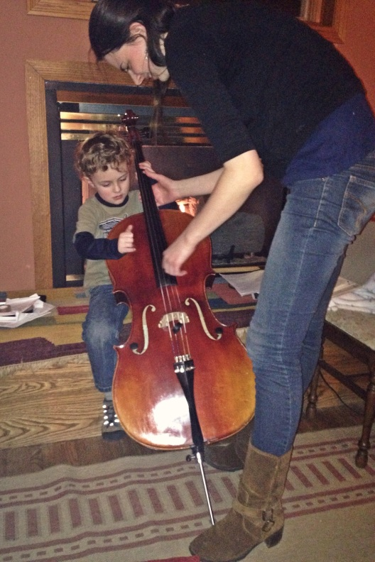 g with cello