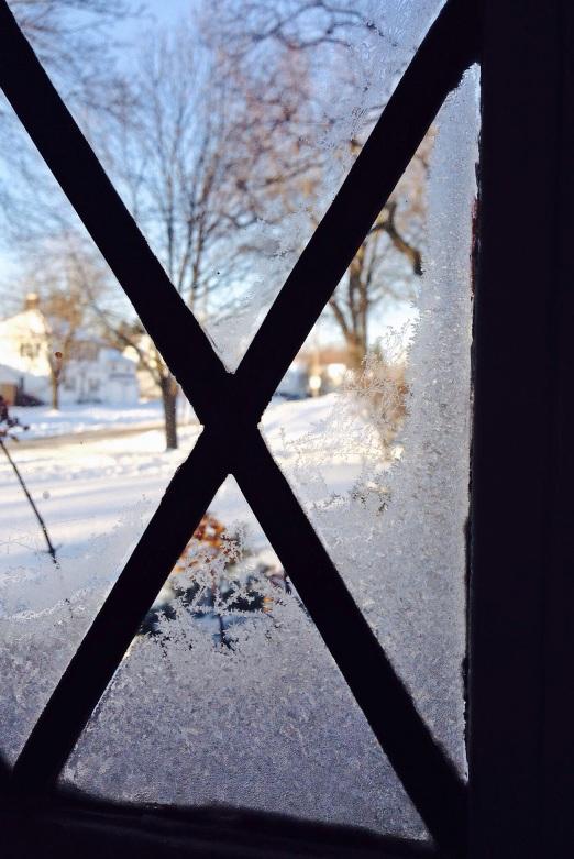 hoarfrost window